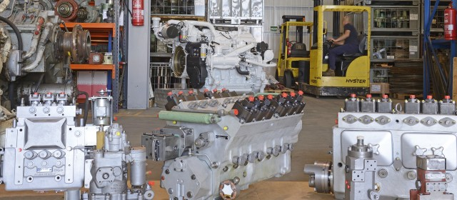 SERVOTEK MOTOR INJECTION PUMPS FOR DEUTZ,  YANMAR, CATERPILLAR